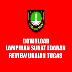 DOWNLOAD LAMPIRAN SURAT EDARAN REVIEW URAIAN TUGAS