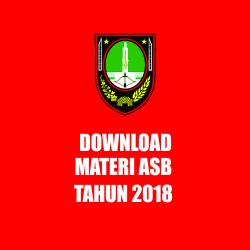DOWNLOAD MATERI ASB 2018