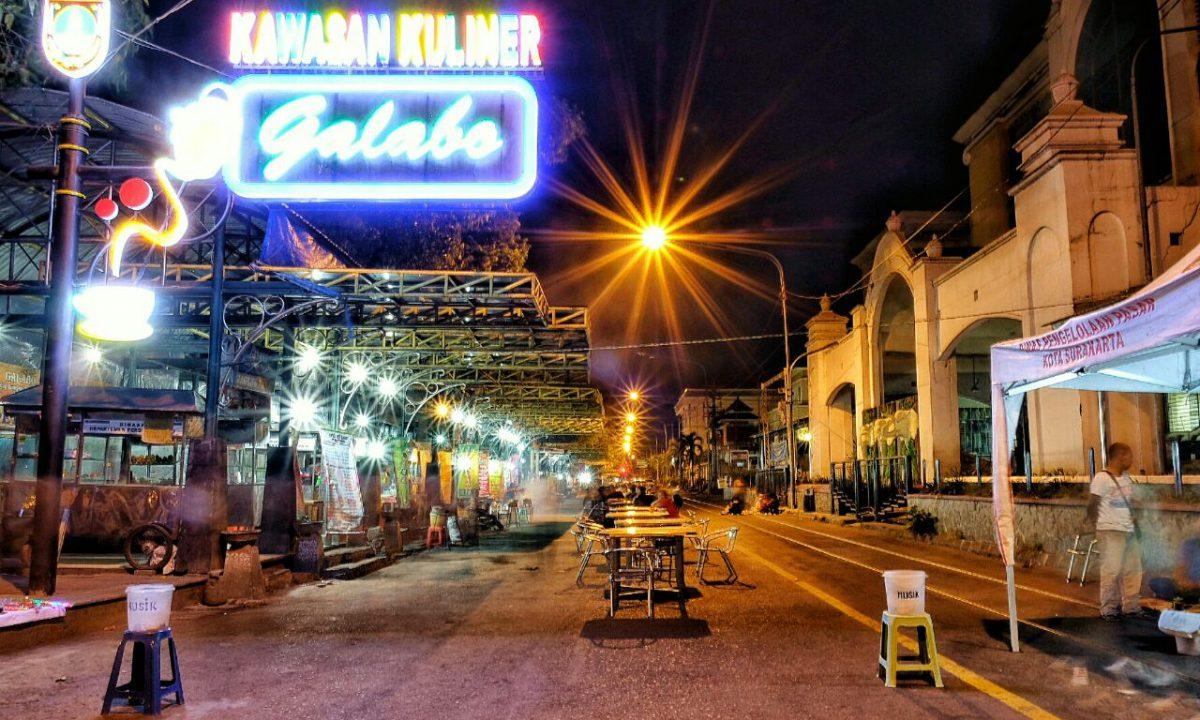 Sensasi Kuliner Malam Di Tengah Jalan Kota Solo Pemerintah