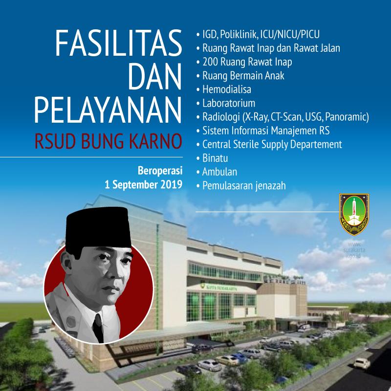 Image result for pelayanan di RSUD Bung Karno